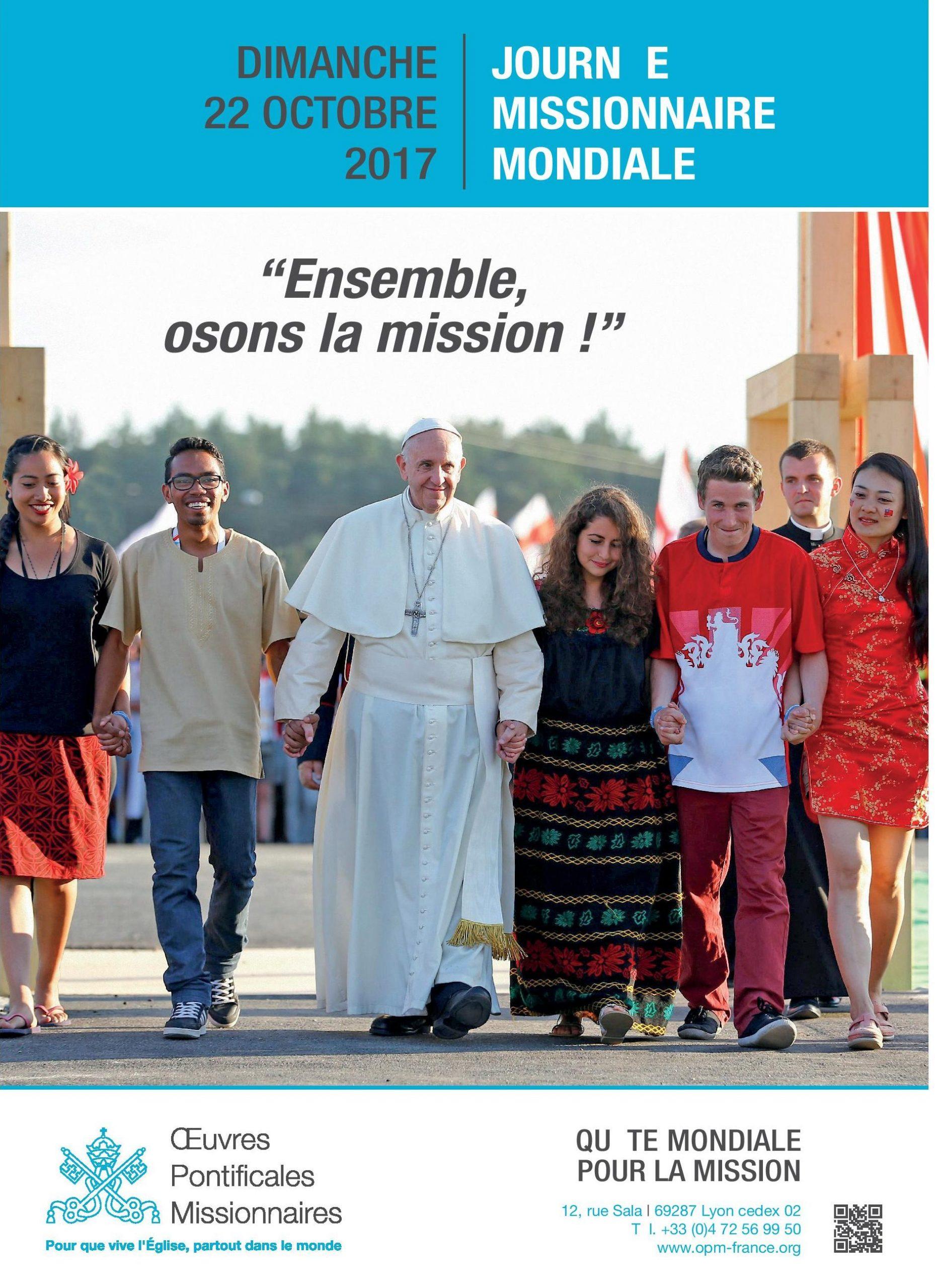 Le 22 octobre, priez et donnez pour annoncer Jésus dans le monde – Mayenne
