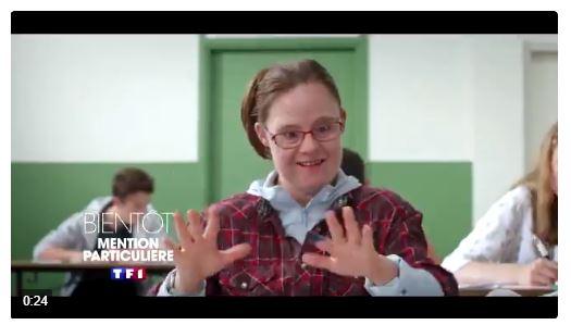 Téléfilm - Mention particulière, une jeune trisomique passe son bac, à voir sur TF1