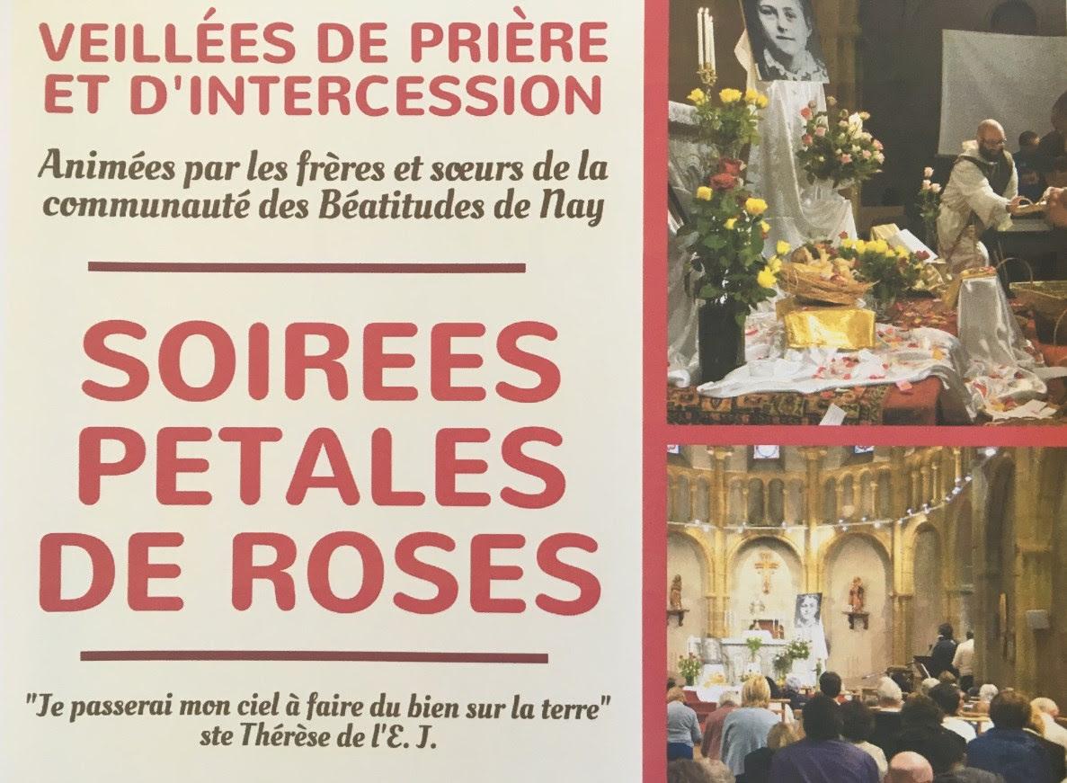 """Soirées """"Pétales de roses"""" avec les Béatitudes à Nay samedi 7 et 8 octobre"""