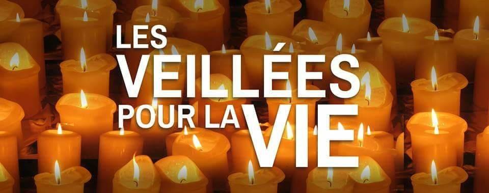 Veillées de prière pour la Vie le 30 novembre 2019 dans le diocèse de Luçon (85)
