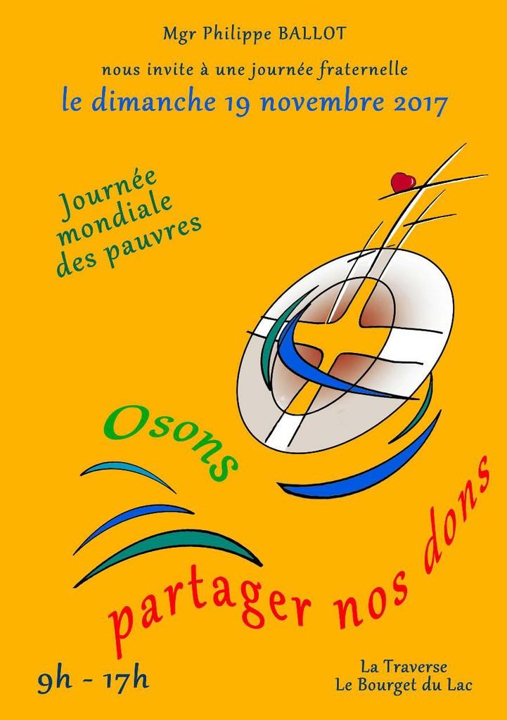 Dimanche Fraternel en Savoie (73) le 19 novembre