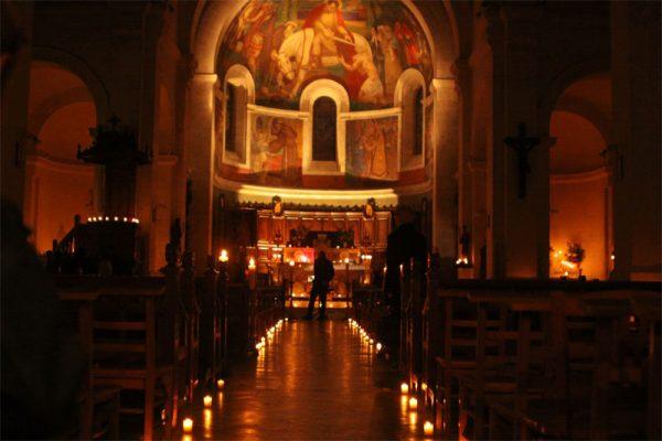 3 décembre 2017: Fête des Lumières en l'église Saint-Martin du Cellier (44)