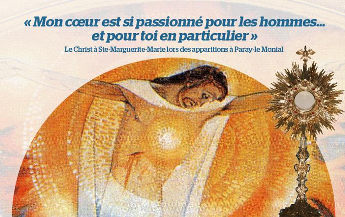 3 jours pour prier le Coeur de Jésus avec Sainte Marguerite-Marie du 10 au 12 novembre dans le diocèse du Val-de-Marne (94)