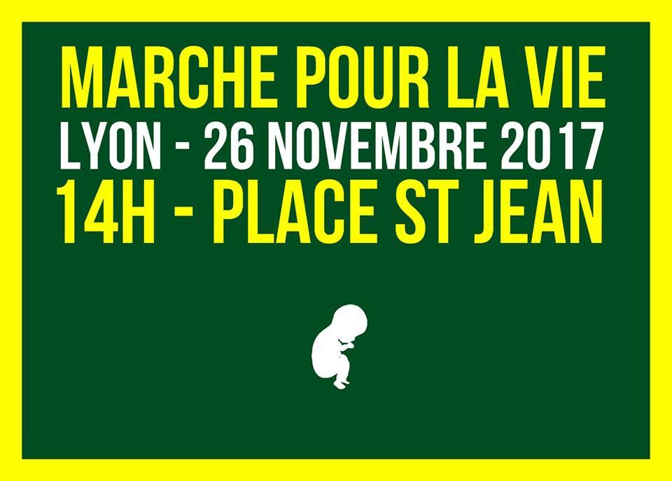 SOS Tout-Petits – Marche Pour La Vie à Lyon (69) – 26 novembre 2017