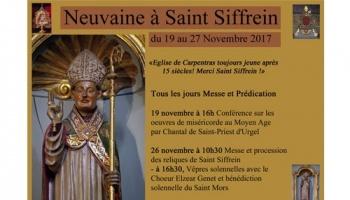 Neuvaine de la Saint Siffrein – Carpentras (84) du 19 au 27 novembre