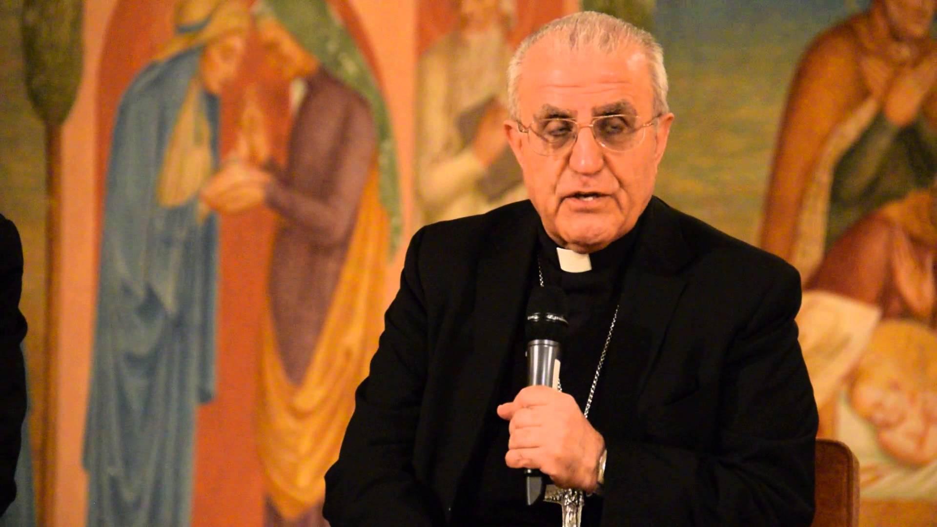 Conférence sur l'Irak et les jeunes irakiens par Mgr Mirkis, à Paris le 9 novembre
