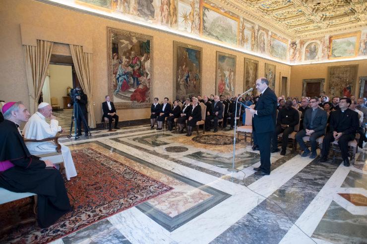 Le pape pour un «pacte éducatif renouvelé» entre école, famille et société