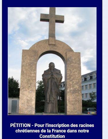 Nadine Morano lance une pétition pour inscrire les racines chrétiennes de la France dans la constitution