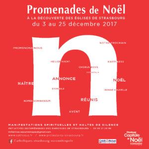 Promenades de Noël à Strasbourg (67) du 3 au 25 décembre