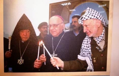 Prix Arafat au Patriarche émérite de Jérusalem des Latins