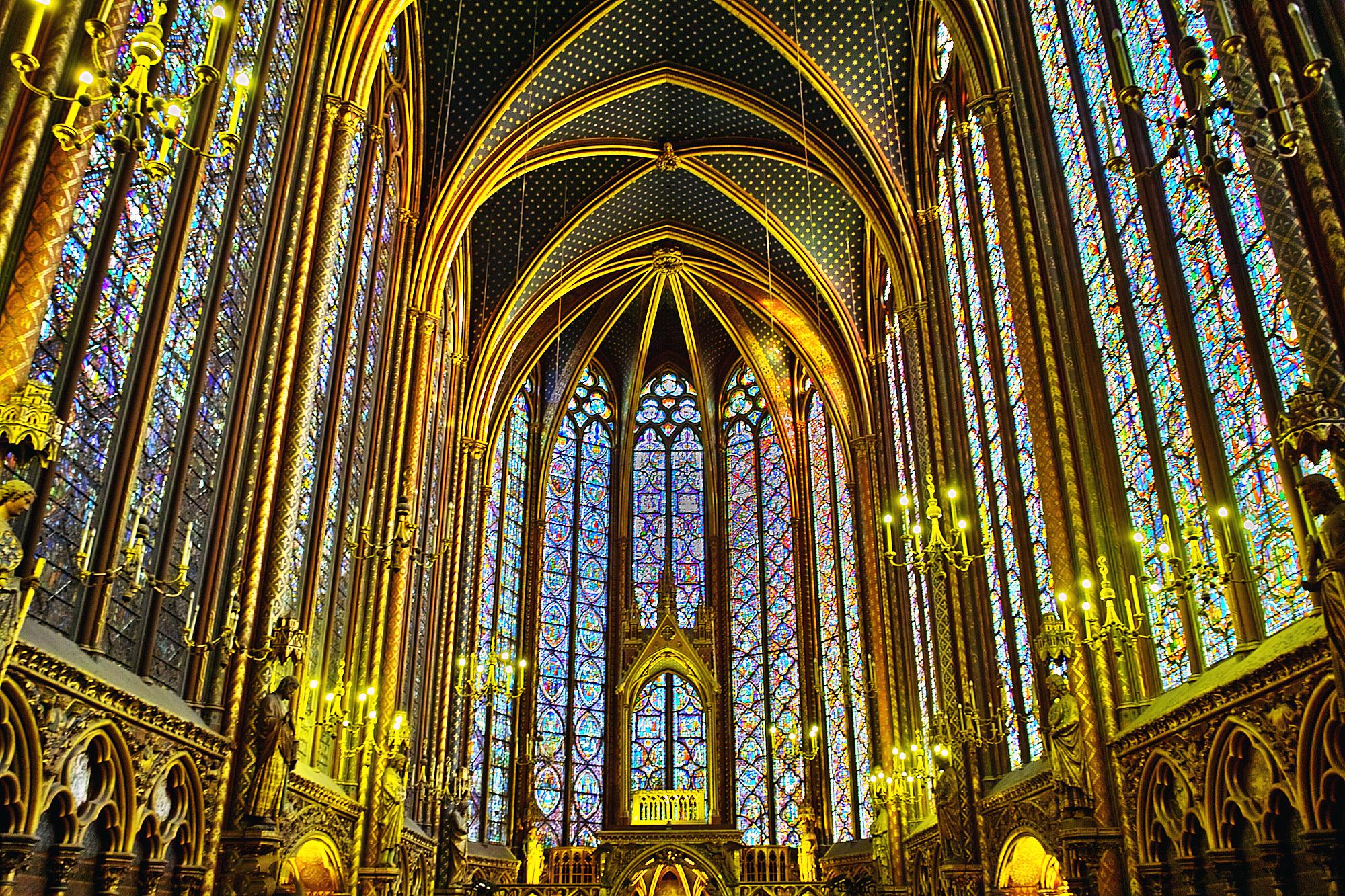Conférence sur la Sainte Chapelle, à l'espace Bernanos à Paris le 20 novembre