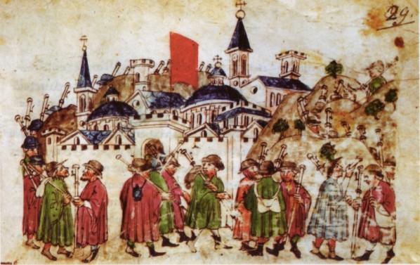 Conférence sur les lieux de pèlerinage rouennais à la fin du Moyen-Âge, par Catherine Vincent, le 2 décembre à Rouen (76)