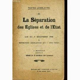 Laïcité à la française? La loi de 1905 condamnée par 3 papes