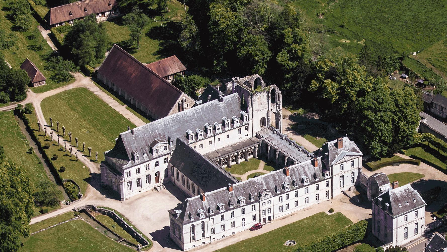 Divine Box à la rencontre de l'abbaye de Saint-Wandrille