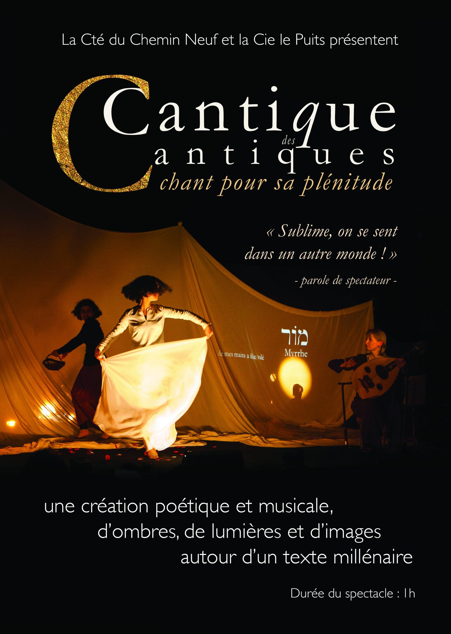 Le Cantique des Cantiques, un spectacle, une audace! le 7 décembre à Lyon (69)