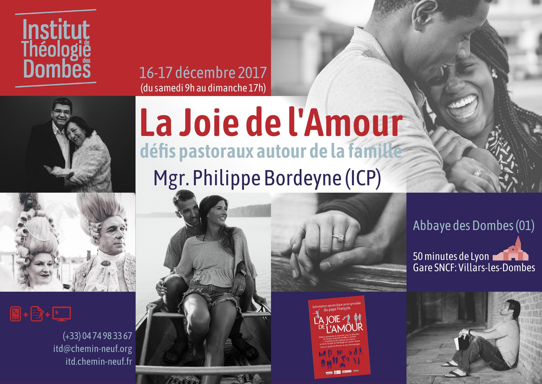 La Joie de l'Amour – Théologie morale conjugale – 16 et 17 décembre au Plantay (01)