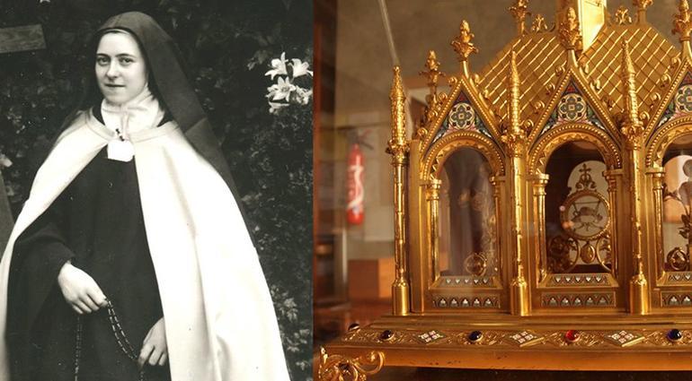 Les reliques de Ste Thérèse et de ses parents du 6 décembre au 7 janvier dans le diocèse de Lille (59)
