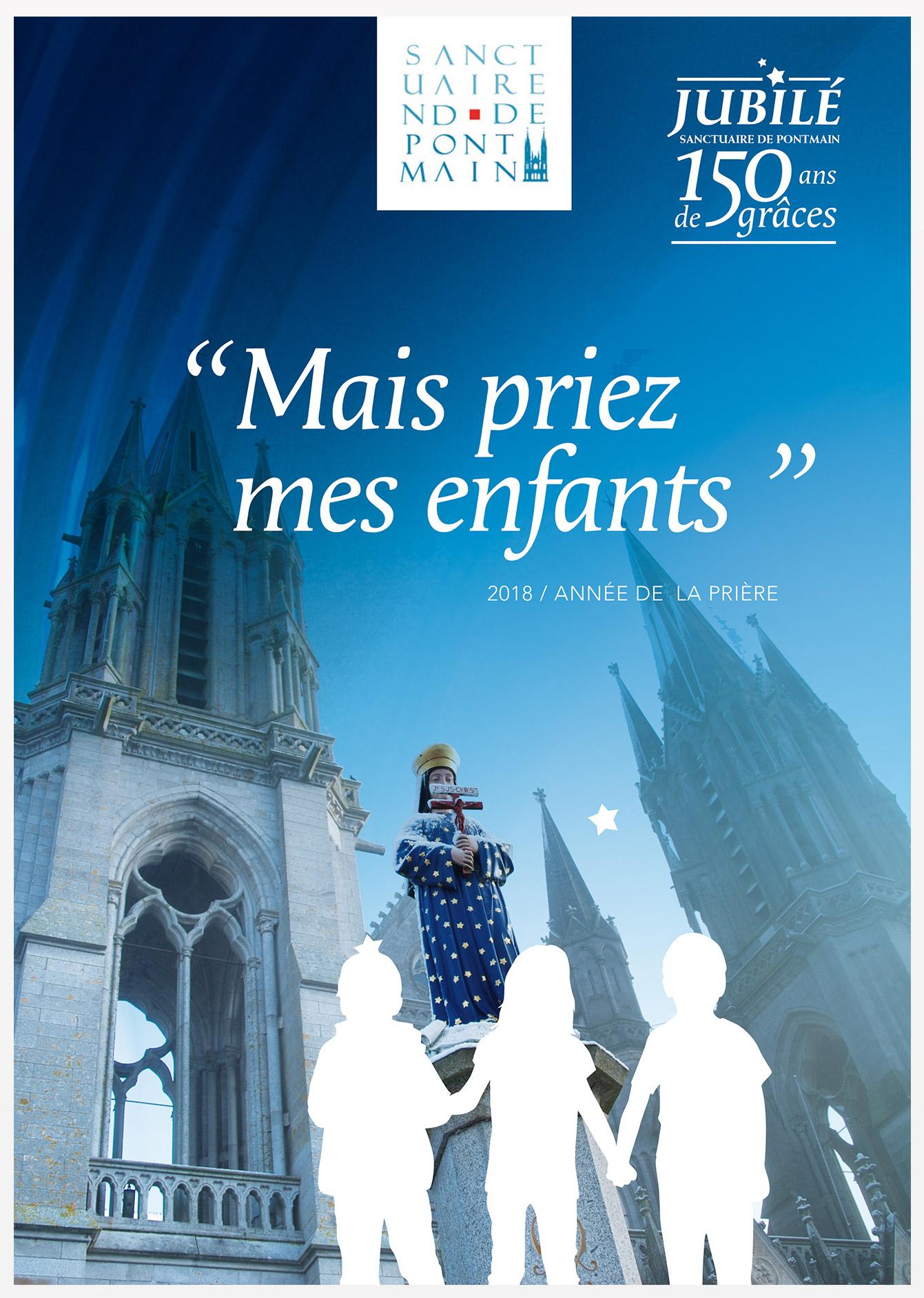 147e anniversaire de l'apparition de Pontmain (53) du 13 au 21 janvier 2018