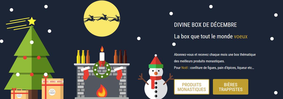 Divine Box – Plus que 6 jours pour commander la box des monastères de décembre