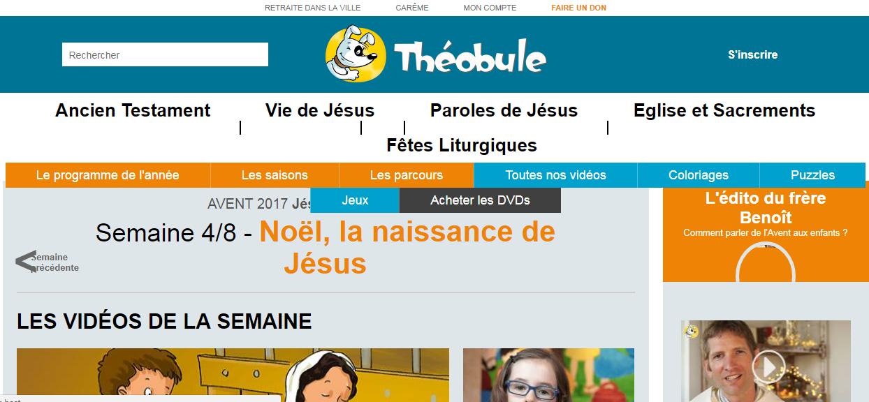 Théobule.org, un site pour les enfants sur la vie de Jésus