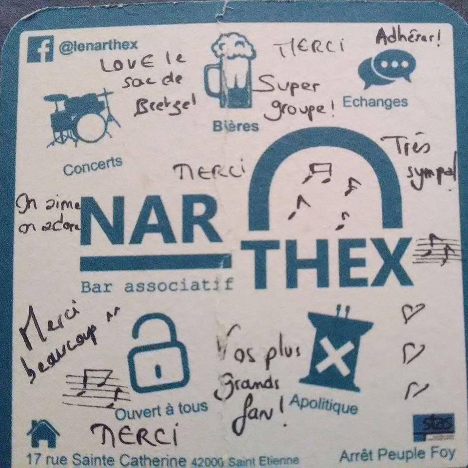 Bar et scène musicale: le Narthex a ouvert ses portes le 8 décembre à Saint-Etienne (42)