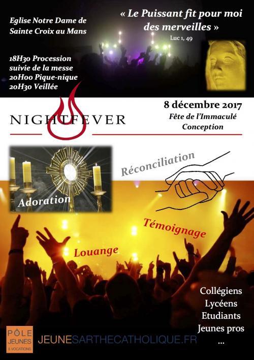 Soirée Night Fever: vendredi 8 décembre au Mans (72)