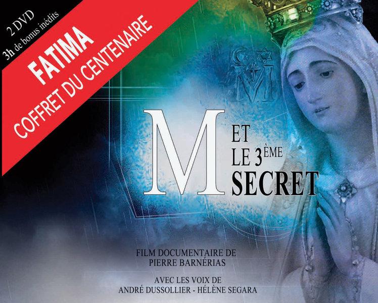 """Sortie du coffret DVD  """"M et le 3e secret"""" (version longue) le 15 décembre"""