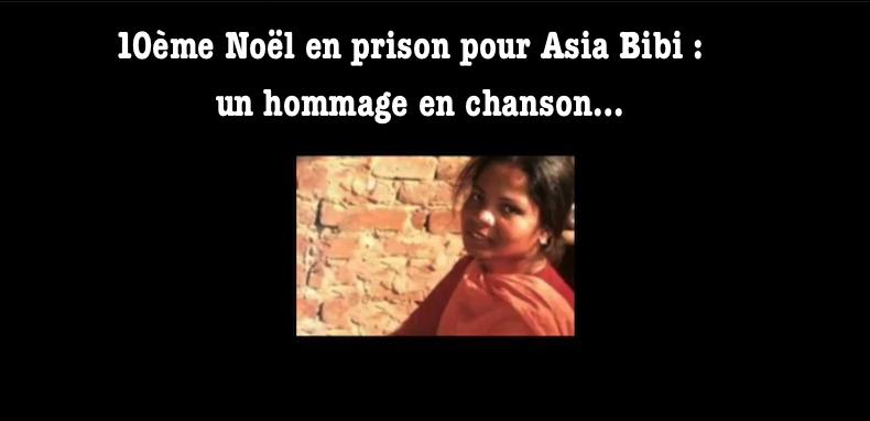 10 ème Noël en prison pour Asia Bibi – Découvrez la chanson hommage