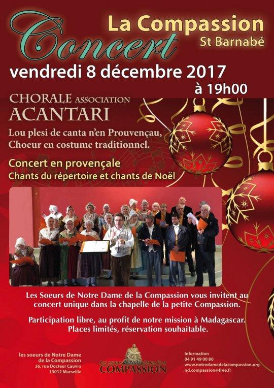 Concert de la chorale Acantari le 8 décembre à Marseille (13)