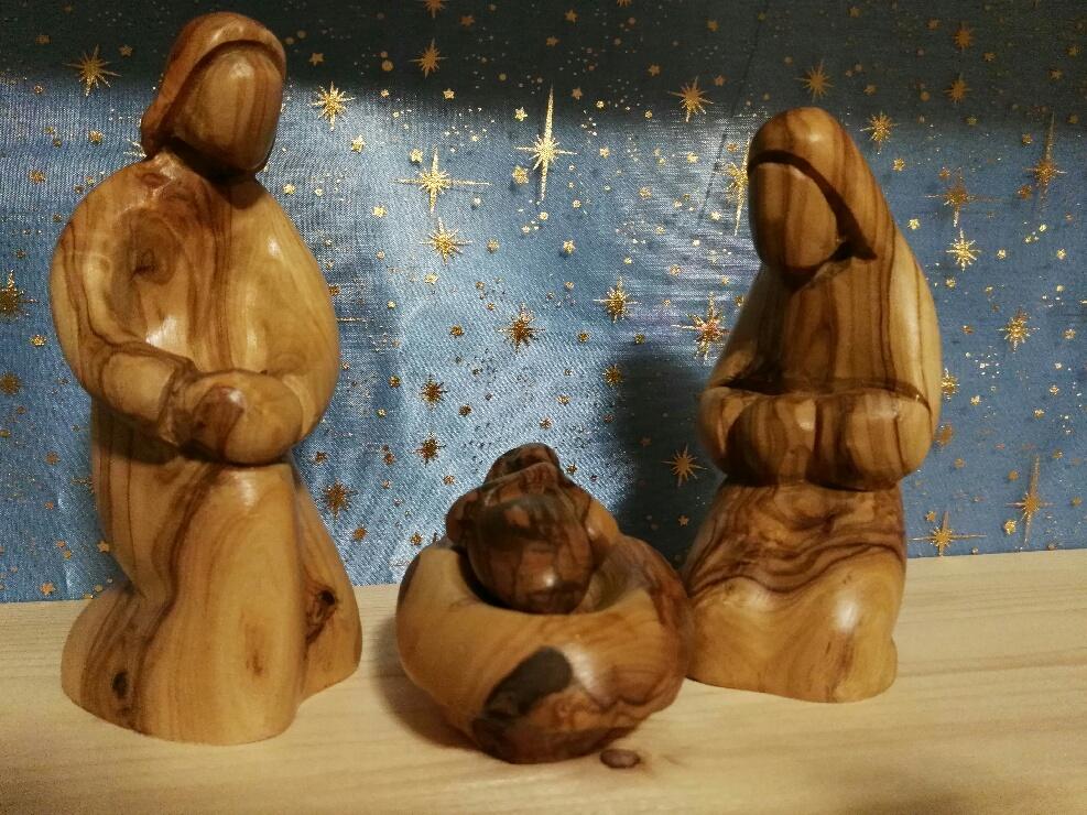 Crèche du Monde – Bethléem en bois d'olivier