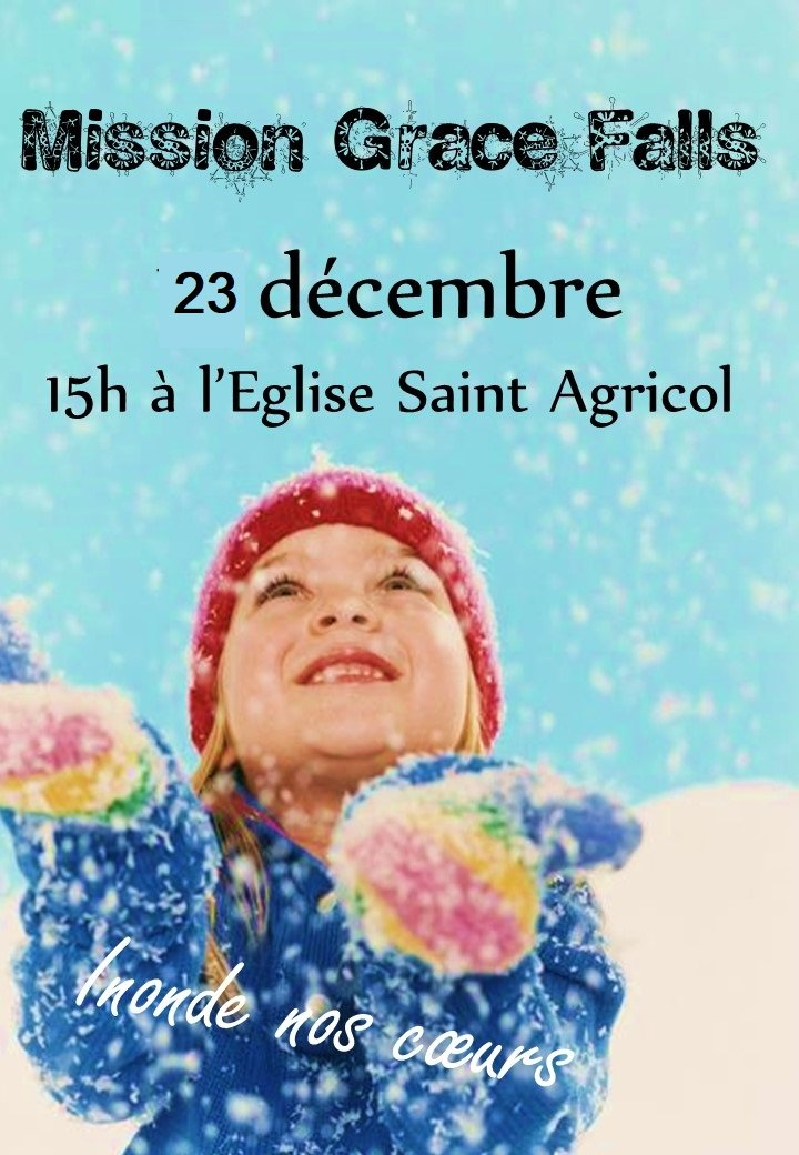 Journée «Grâce Falls» le 23 décembre à Avignon (84)