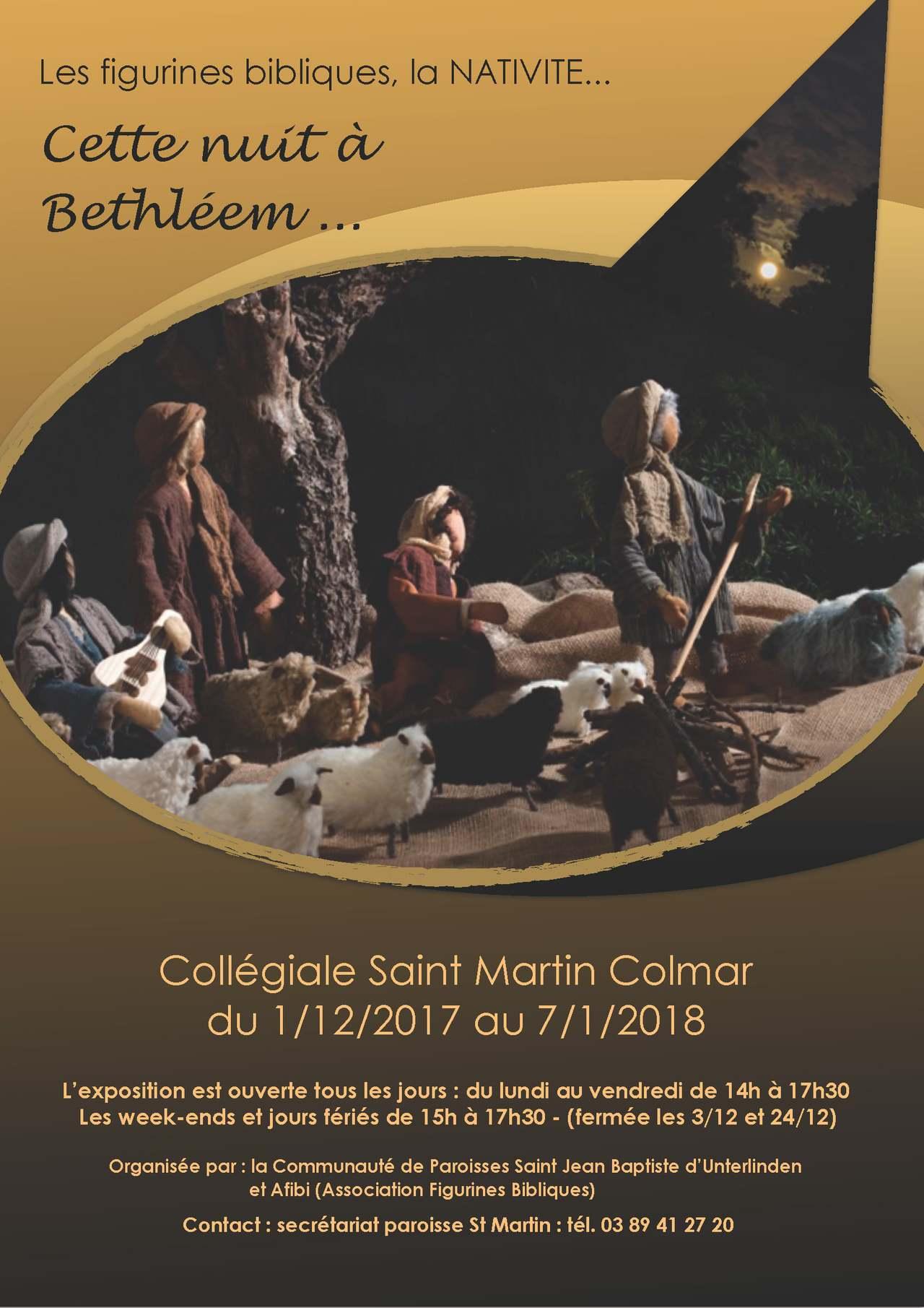 Exposition biblique: Cette nuit à Bethléem, jusqu'au 7 janvier à Colmar (68)