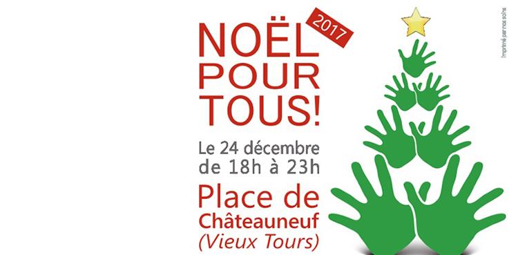 Noël pour tous à Tours (37) le 24 décembre