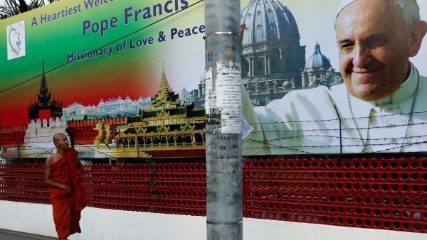 Le pape et les Rohingyas