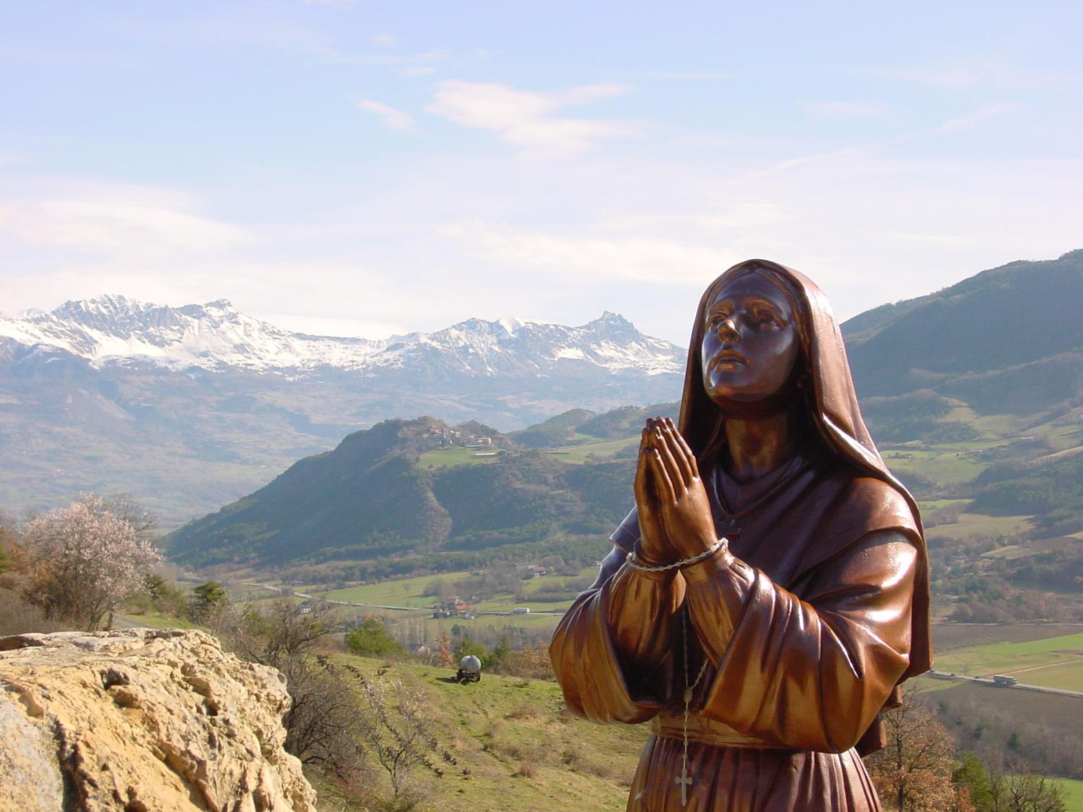 L'année Benoîte, nous y sommes! Sanctuaire Notre-Dame du Laus (05), le 28 décembre