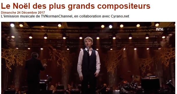 Retrouvez en musique le  Noël des grands compositeurs