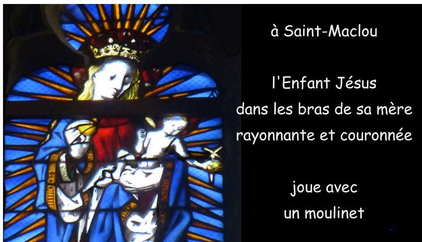 Quand les vitraux racontent la Sainte Famille