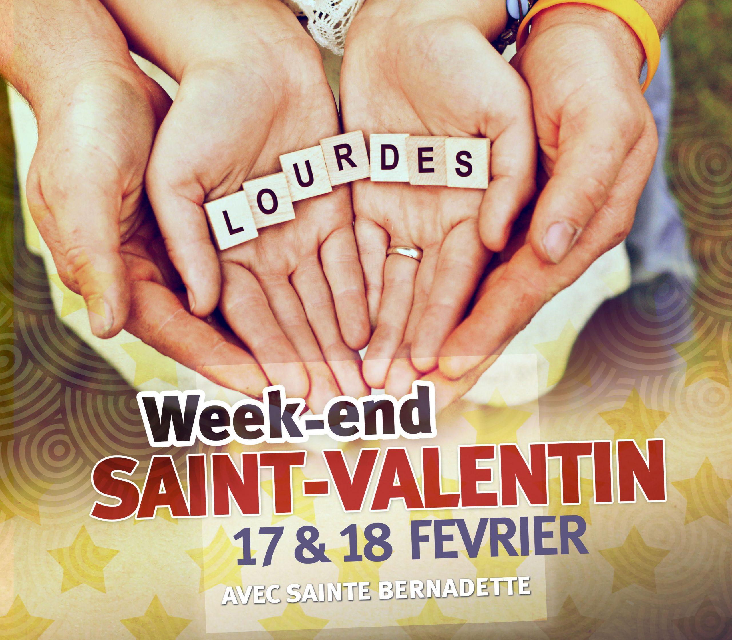 Week-end de la saint Valentin à Lourdes (65) pour les couples les 17 & 18 février