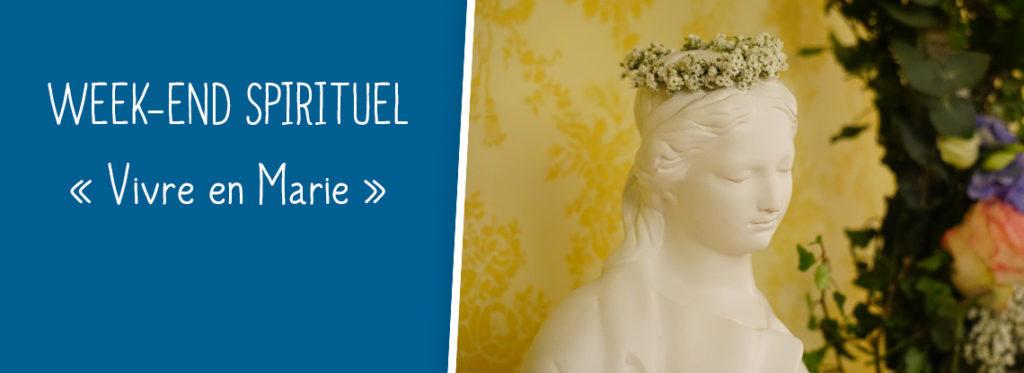 Week-end spirituel «Vivre en Marie» au sanctuaire d'Alençon (61) du 8 au 10 décembre