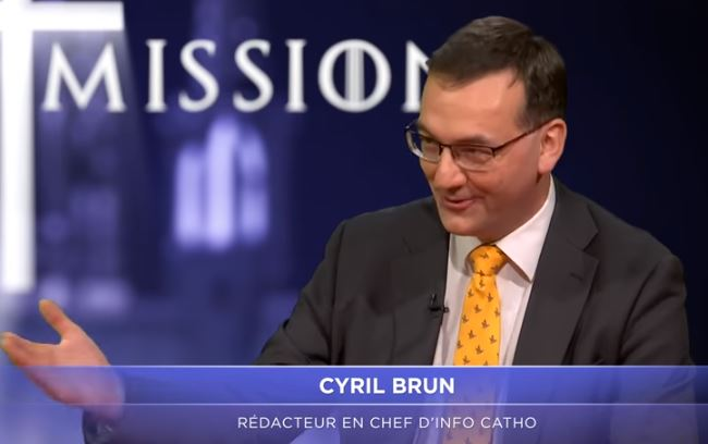 Un an d'actu – Cyril Brun, invité de Terre de mission, commente les grands moments catholiques de 2017