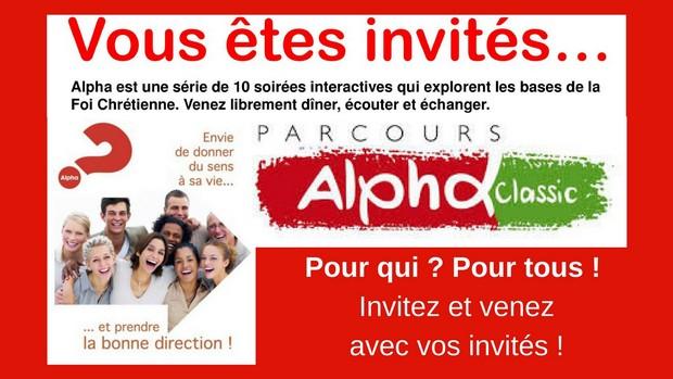 Lancement d'un «Parcours Alpha» à la Paroisse Saint-Paul de Quevilly–Couronne (76) le 11 janvier