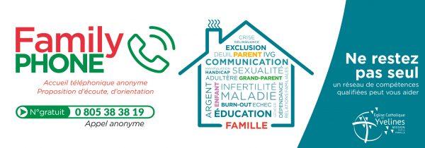 FAMILYPHONE  – Un numéro d'urgence pour les familles