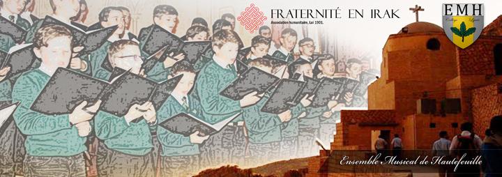 Concert de charité pour les chrétiens persécutés en Irak à Courbevoie (92) le 2 février 2018
