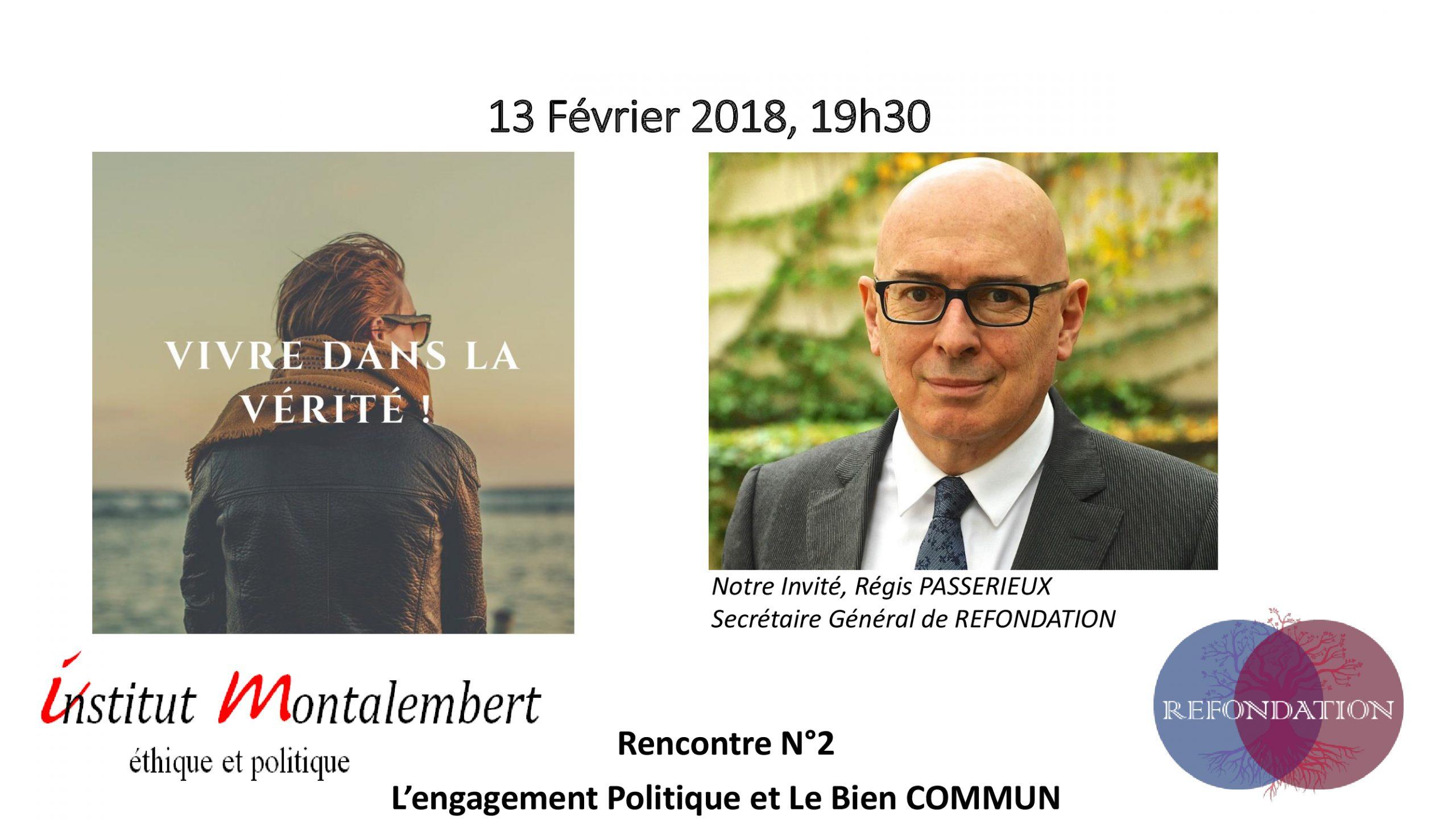 2e Rencontre de l'Institut Montalembert le 13 février 2018 à Paris