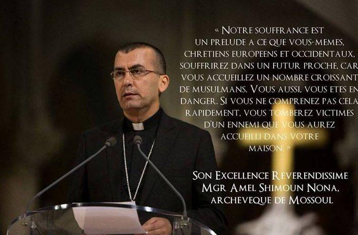 Notre souffrance n'est qu'un prélude à celle des chrétiens d'Europe – Archevêque de Mossoul