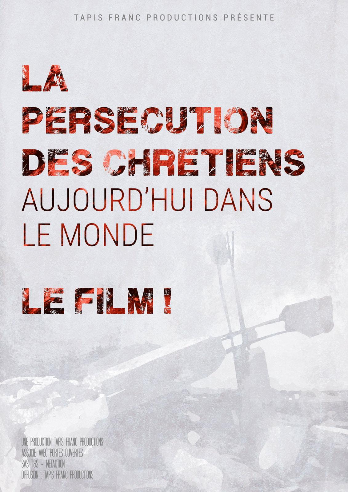 """Projection du film: La Persécution des chrétiens aujourd'hui dans le monde"""" à Nevers (58) le 26 février 2018"""