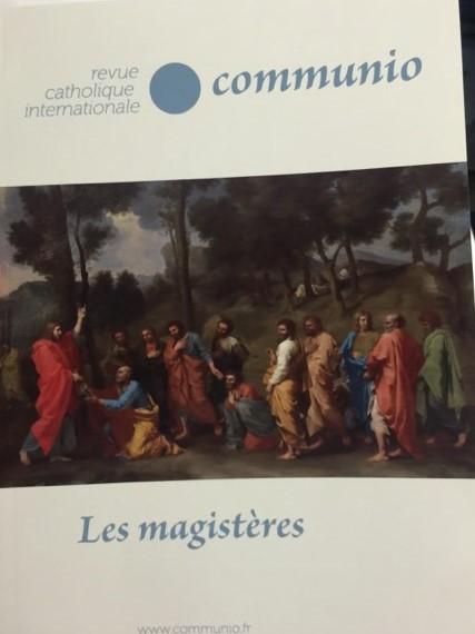 Parution du dernier numéro de la revue Communio consacré à la question du magistère