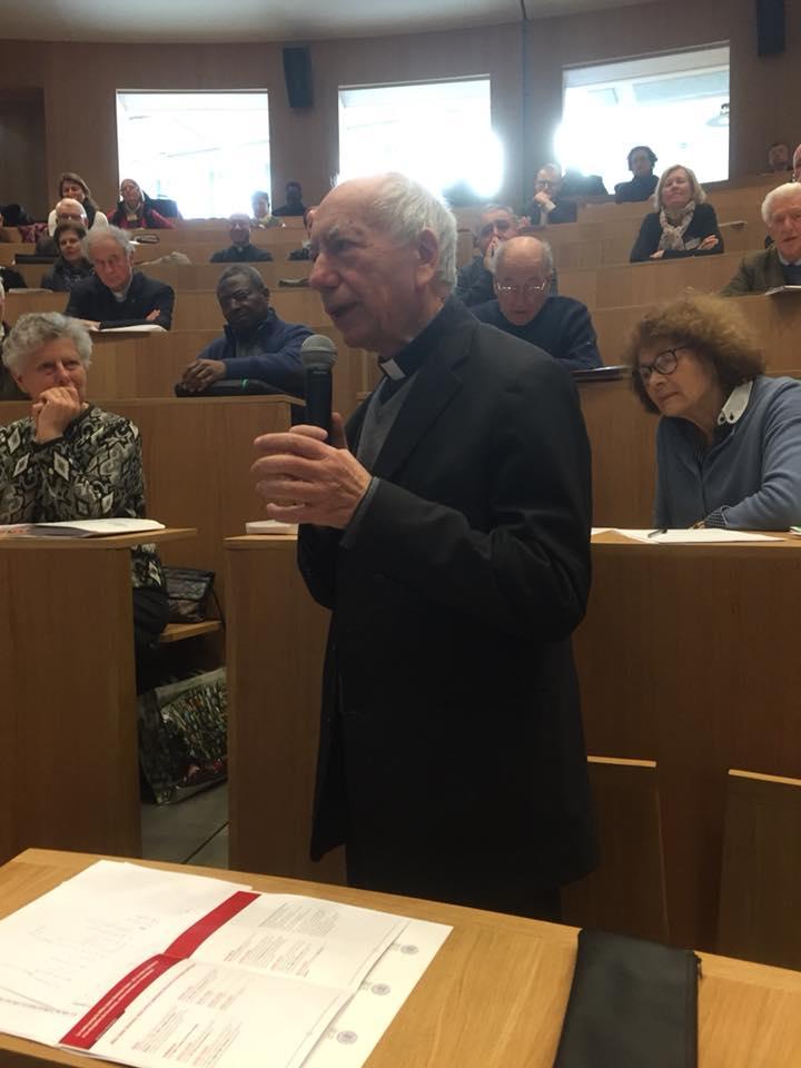 «Les canonistes français forment une école de grande qualité». Cardinal Francesco Coccopalmerio