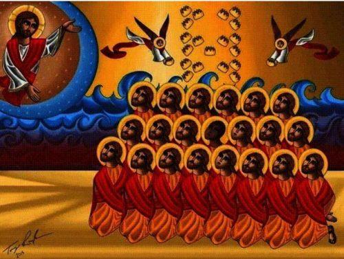 Une église en Égypte à la mémoire des martyrs coptes