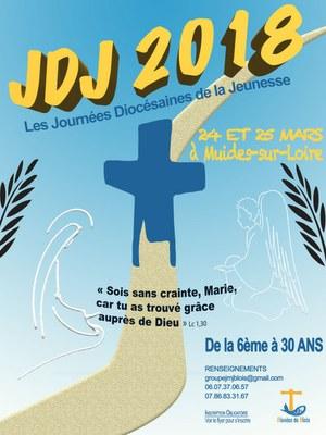 Journées diocésaines de la jeunesse du diocèse de Blois (41) les 24 et 25 mars 2018 à Muides-sur-Loire